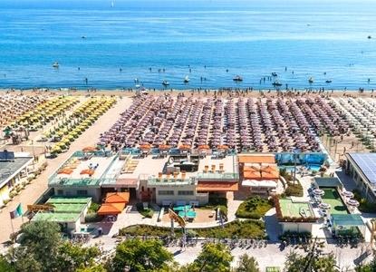 Pinarella vacanze union hotels a cervia italiaabc for Bagno 3 stelle pinarella